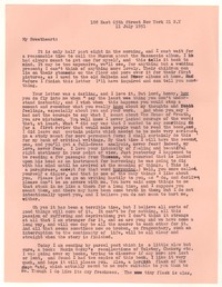 Letter from Katherine Anne Porter to William Goyen, July 11, 1951