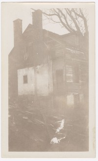 Frankland and Marshall houses used for restoration of Piscataway, Fort Washington, circa 1929-1930