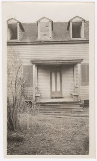 Old Marshall and Frankland house used in restoring Harmony Hall, Fort Wasington, Maryland, circa 1929-1930