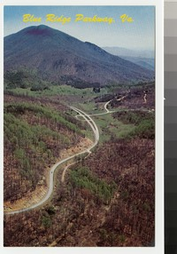 Blue Ridge Parkway, Bedford, Virginia, circa 1962