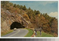 Rough Ridge Tunnel, Blue Ridge Parkway, North Carolina, circa 1960-1970