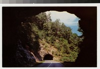 Tunnels on the Blue Ridge Parkway, near Asheville, North Carolina, 1957
