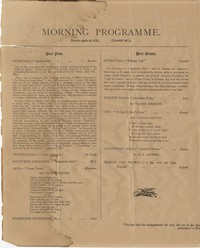Descriptive Programme of the Grand Concerts by the Premier Military Band of the United States of America (22nd Regiment of New York) conducted by Mr. P.S. Gilmore with vocalist Miss Lillian Norton