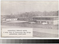 Annapolis Terrace Motel, Annapolis, Maryland, 1952-1979