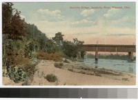 Ballville Bridge, Sandusky River, Fremont, Ohio, 1907-1914