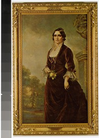 Lucy Webb Hayes, 1831-1899, wife of the 19th President of the United States, 1945-1980
