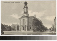 Darke County Courthouse, Greenville, Ohio, 1907-1911