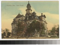 Butler County Courthouse, Hamilton, Ohio, 1907-1909