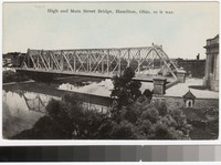 High and Main Street Bridge, Hamilton, Ohio, 1913-1918
