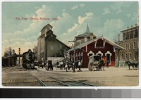Big Four Depot, Kenton, Ohio, 1907-1914