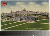 New University of Pittsburgh, Pittsburgh, Pennsylvania, 1907-1911