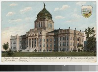 State capitol building, Helena, Montana, 1901-1907