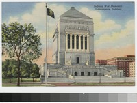 Indiana War Memorial, Indianapolis, Indiana, 1930-1944