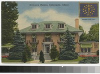 Governor's mansion, Indianapolis, Indiana, 1930-1944