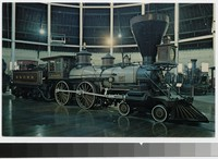William Mason locomotive, Baltimore and Ohio Transportation Museum, Baltimore, Maryland, 1960-1980