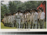 Reenactment at Fort Frederick State Park, Big Pool, Maryland, 1981-2000