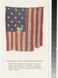 Original Star-Spangled Banner, The Flag House and 1812 Museum, Baltimore, Maryland, 1961-1990