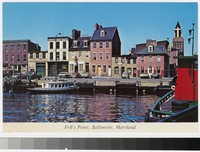 Fell's Point, Baltimore, Maryland, 1981-2000