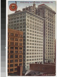 Frick Building and Annex, Pittsburgh, Pennsylvania, 1907-1910