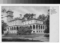 Late Johns Hopkins' Residence, Clifton Park, Baltimore, Maryland, 1907-1914