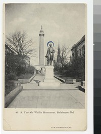 S. Teackle Wallis Monument, Baltimore, Maryland, 1901-1907