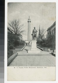 S. Teackle Wallis Monument, Baltimore, Maryland, 1907-1908