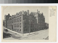 City Hospital and College of Physicians and Surgeons, Baltimore, Maryland, 1901-1907