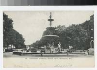 Centennial Fountain, Eutaw Place, Baltimore, Maryland, 1907-1914