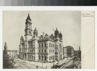 Post office, Baltimore, Maryland, 1901-1907