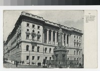 Court house and battle monument, Baltimore, Maryland, 1907-1910