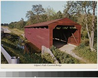 Gilpin's Falls Covered Bridge, Bay View, Maryland, 1981-2000
