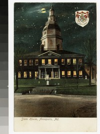 State House, Annapolis, Maryland, 1901-1907