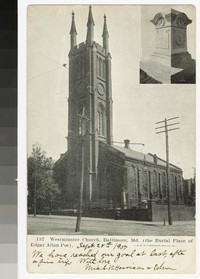 Westminster Church, Baltimore, Maryland, 1901-1907