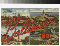 Baltimore, Maryland, 1930-1944
