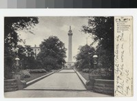 Monument Square, Washington Monument, Baltimore, Maryland, 1901-1906
