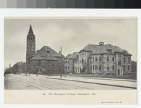 The Woman's College, Baltimore, Maryland, 1901-1907