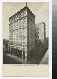 The American Building, Baltimore, Maryland, 1901-1907