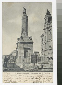 Battle Monument, Baltimore, Maryland, 1901-1907