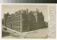 City Hospital and College of Physicians and Surgeons, Baltimore, Maryland, 1901-1906