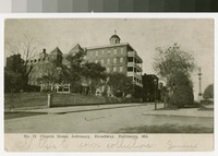 Church Home and Infirmary, North Broadway, Baltimore, Maryland, 1901-1907
