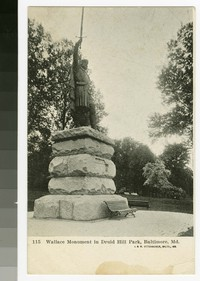 Wallace Monument in Druid Hill Park, Baltimore, Maryland, 1901-1907