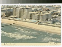 Quality Inn Boardwalk, Ocean City, Maryland, 1971-1990