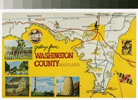 Greetings from Washington County, Maryland, 1960-1990