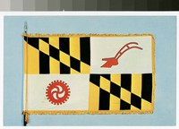 Baltimore County flag, Maryland, 1962-1970