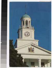 Holloway Hall Bell Tower, Salisbury State College, Salisbury, Maryland, 1988