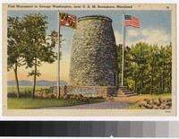 First monument to George Washington, Boonsboro, Maryland, 1936-1944