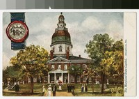 Maryland State Capitol, Annapolis, Maryland, 1907-1914