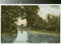 Mirror Bend, Scioto River, Marion, Ohio, 1907-1914