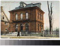 Post office and custom house, Bristol, Rhode Island, 1907-1913