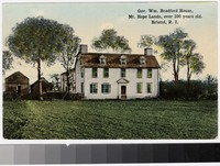Governor William Bradford House, Bristol, Rhode Island, 1907-1914